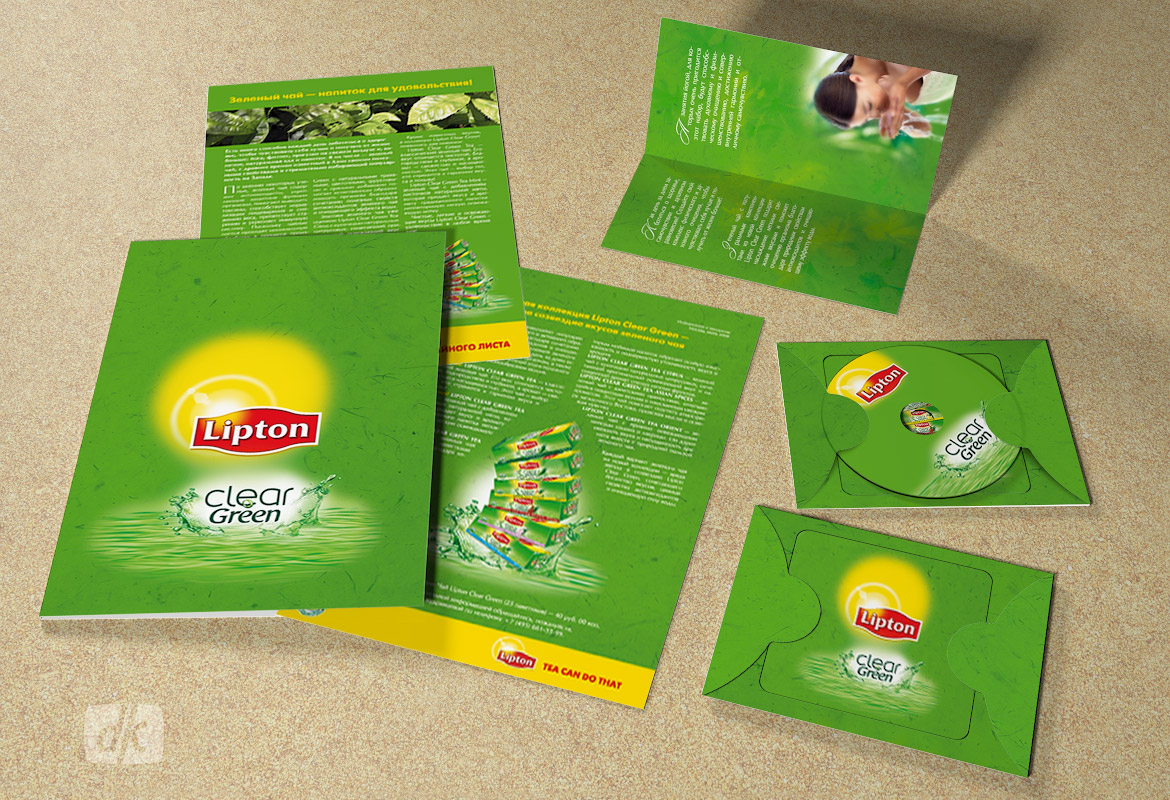 Пресс-кит Lipton Clear Green